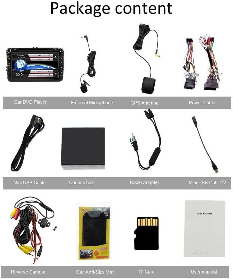 Amazon.com: Radio de coche de 8 pulgadas, pantalla táctil ...