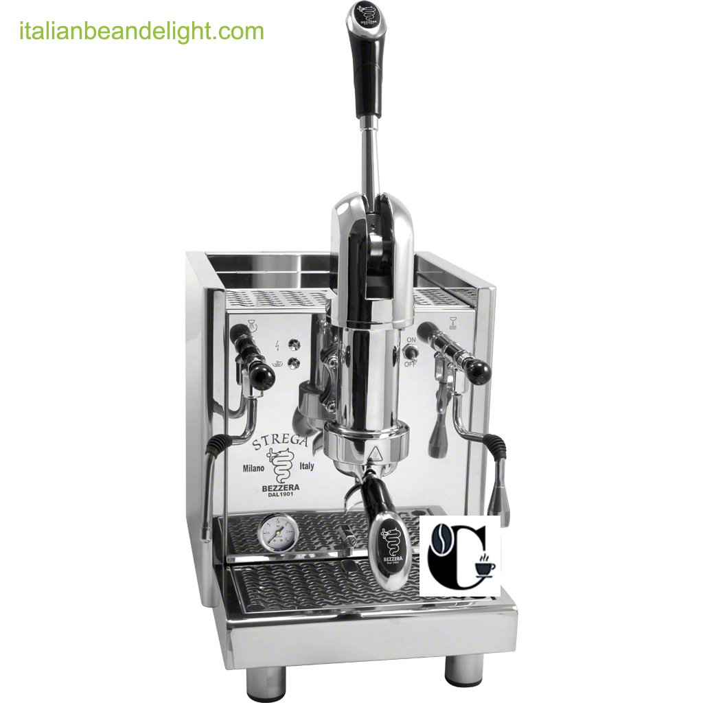 Bezzera Strega Commercial Espresso Lever Machine Switchable Tank or Plumbed for Restaurant