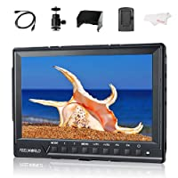 """FEELWORLD FW760 7"""" IPS Ultra-thin 1920x1200 HD On-Camera Video Monitor HDMI with Histogram, Zebra for DSLR Cameras"""
