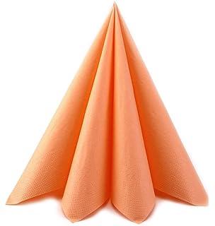 100 Apricot Creme Zweilagig Papier Servietten Servietten Gewebe 33
