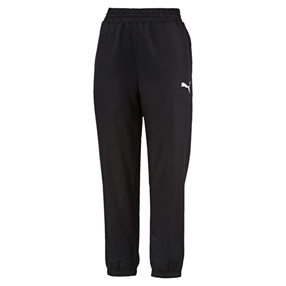 346f82027308e Puma Women's Active Woven Pants Sweatpants: Amazon.co.uk: Clothing