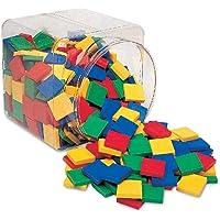 Learning Resources LER0203 Square Colour Tiles Set (400 Piece)