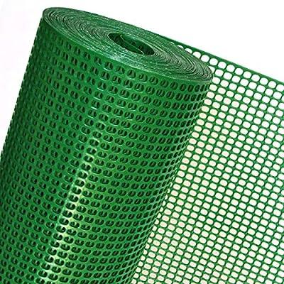 Rete Plastica Per Giardino.Haga Welt De Op08 100 Rete In Plastica Per Recinzione Maglie 6
