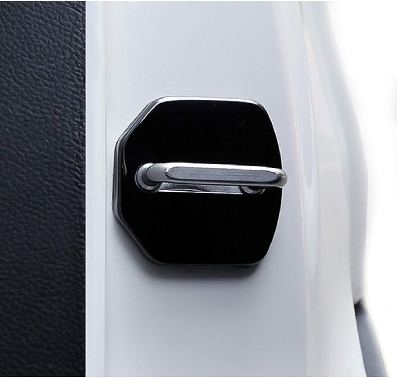 SBCX Copertura per Serrature per Ford Fiesta EcoSport Escort Focus 1 Focus 3 Focus 2 Car-Styling Copri Serratura della portiera per Auto Emblemi per Auto Accessori Car Styling