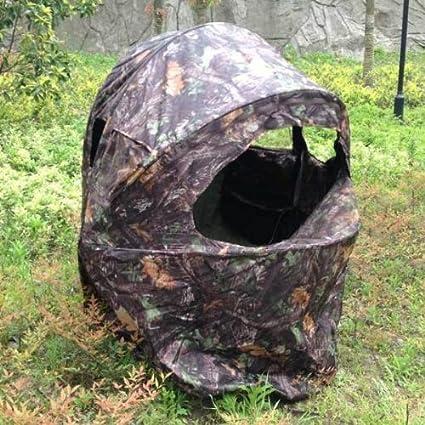 Nitehawk Pop Up Tarnzelt mit Stuhl für 1 Person für die JagdWildfotografie