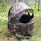 Nitehawk Pop-Up Hunting Tent/Hide/Blind with Chair - For Photography, Shooting, Bird Watching