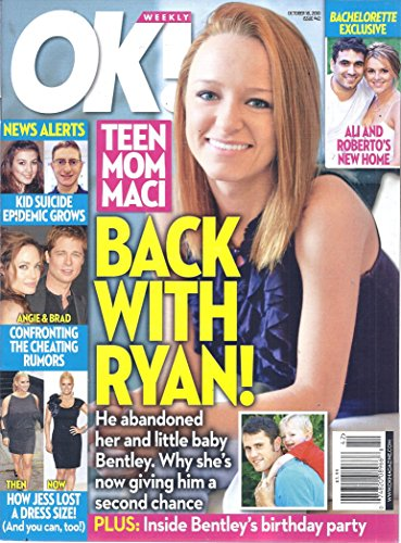 OK! Weekly Magazine (Issue #42 - October 18, 2010 - Maci Bookout, Ryan Edwards, Kyle King)