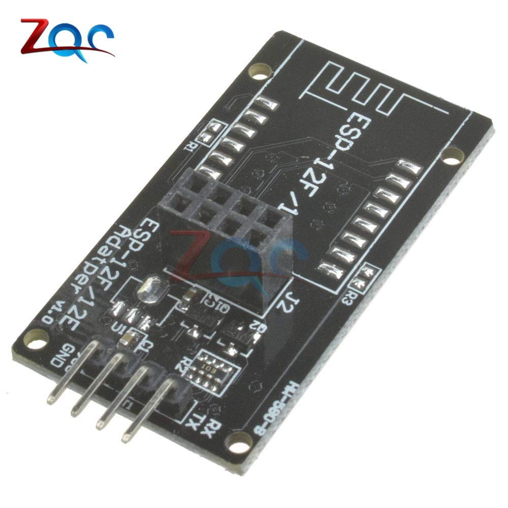 ESP8266 ESP-12F ESP-12E ESP-12 Serial WiFi Wireless Adapter Module for Arduino 5V Compatible Motherboard Board 2.4GHZ for Sensor
