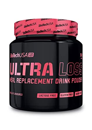 Biotech USA Ultra Loss Pinkfit Sabor Chocolate Negro - 500 gr