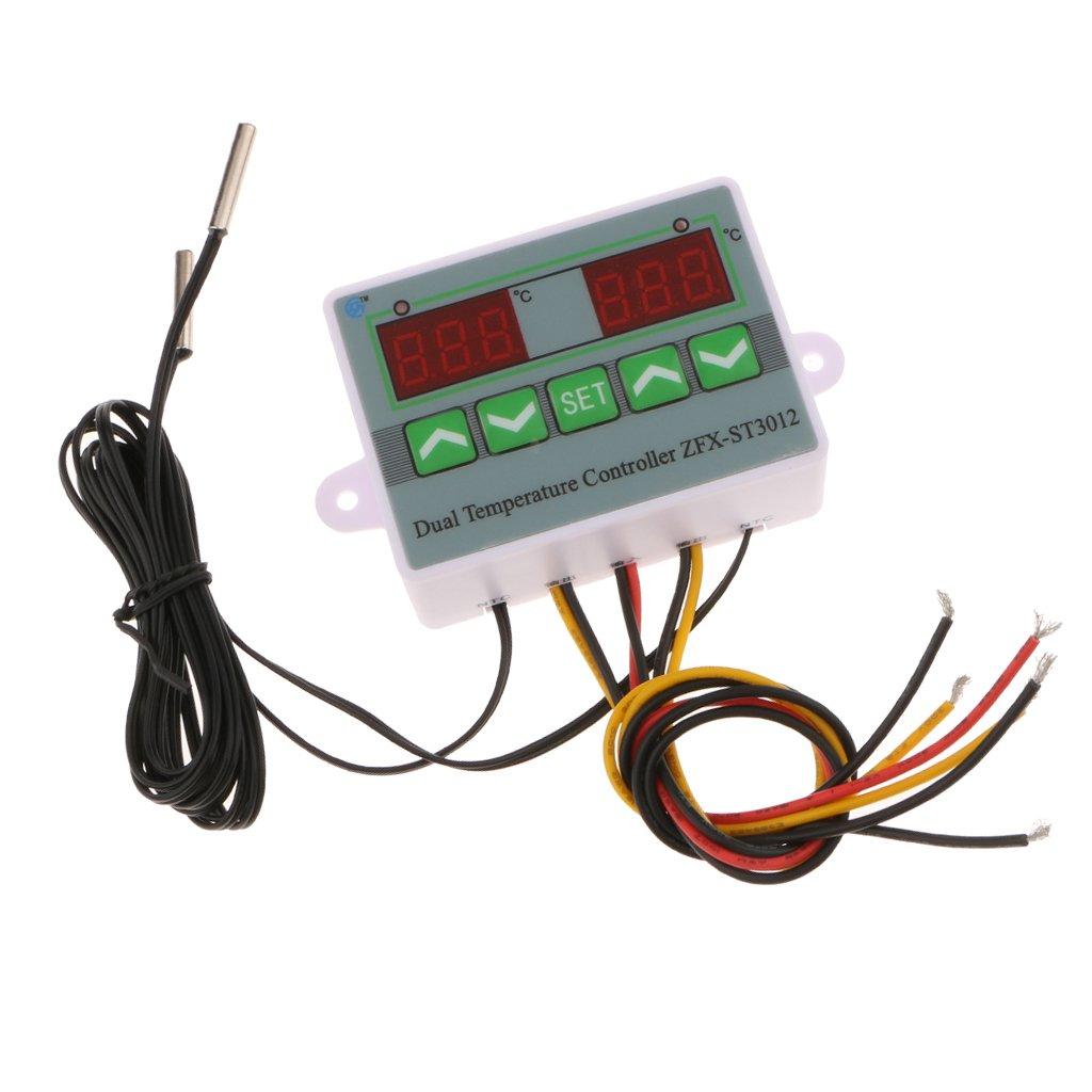 Sharplace Zfx-st3012 Sonde Numé rique De Contrô le De Thermostat De Contrô leur De Tempé rature - 220 v