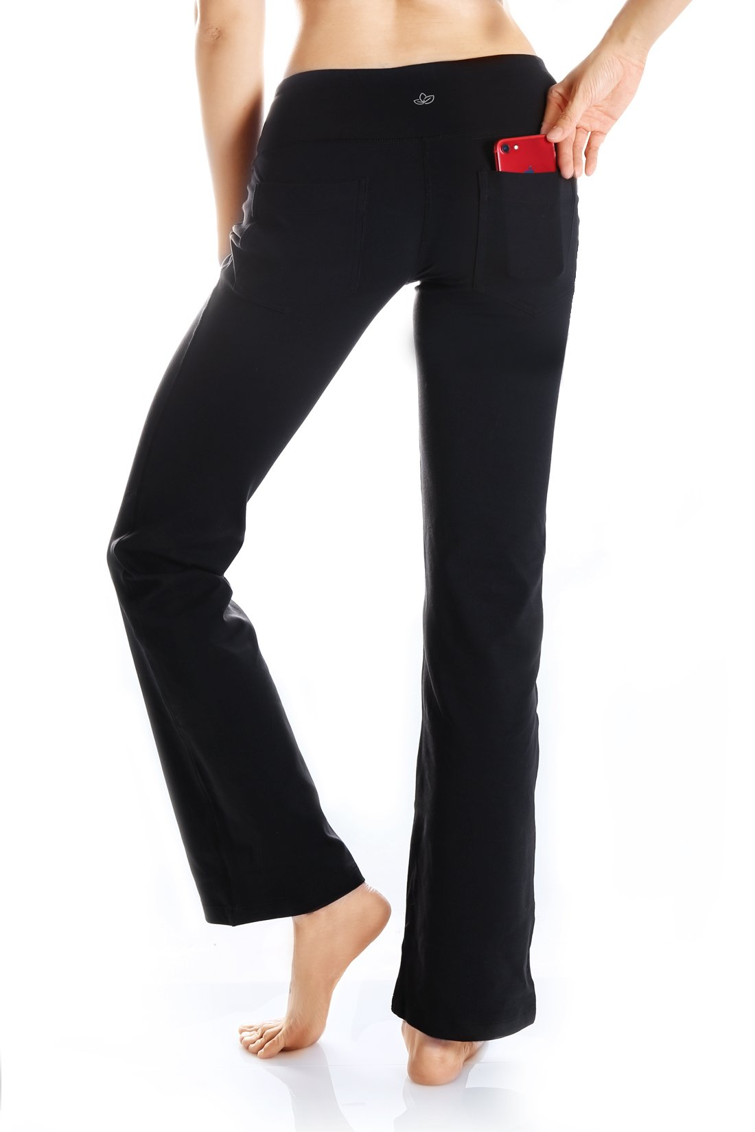 fa4d18e510 Yogipace 2 Back Pockets 29 31 33 35 37 Inseam Women S Bootcut. Naviskin Womens  Bootcut Yoga Pants Bootleg ...