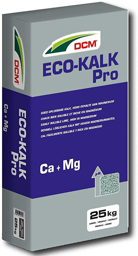 DCM Eco cal Pro Césped & Jardín cal 25kg: Amazon.es: Jardín