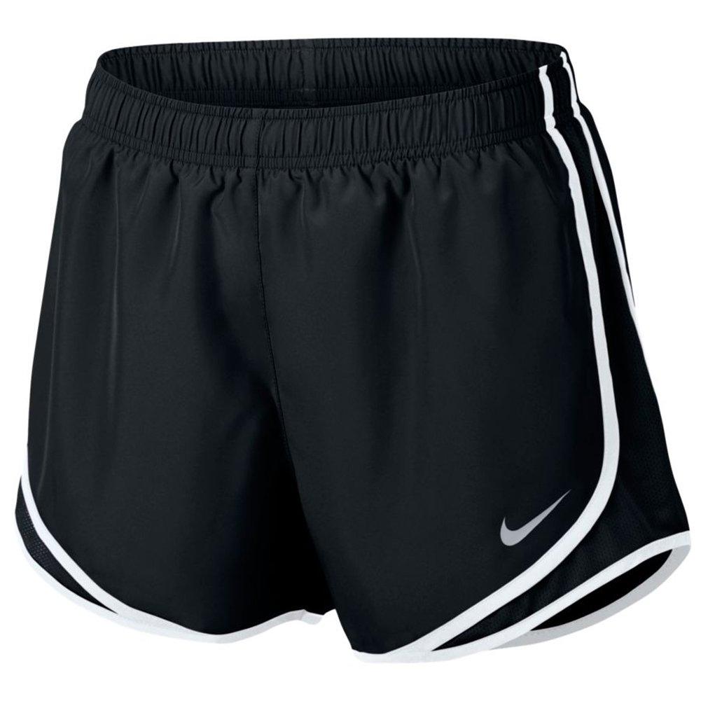 noir (noir   noir   blanc   Wolf gris) Medium Nike Tempo W NK Dry Pantalon Court, Femme