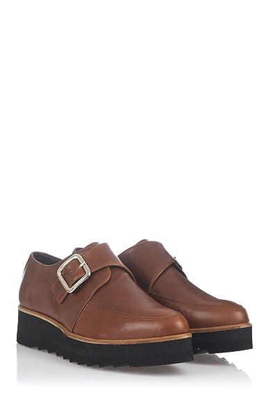 Laura Moretti Damen Bugy Shoes Schuhe38 EUSchwarz
