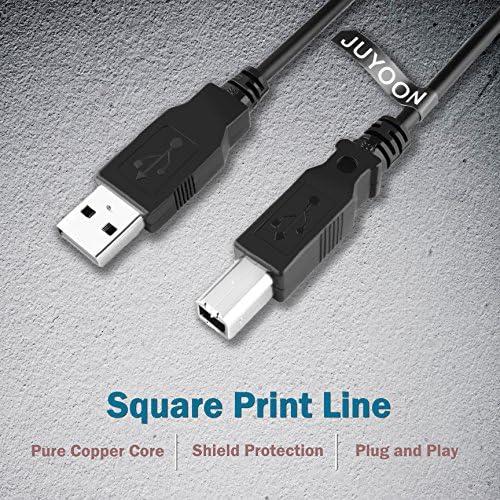 JUYOON Cable de Impresora USB 2.0 de Alta Velocidad para 8121-1585 ...
