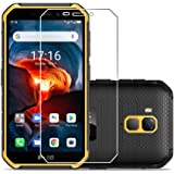Laerion[2 Pack] Tempered Glass Screen Protector Compatible with Ulefone Armor X7 Pro with 9H Anti Scratch Transparent HD Clea
