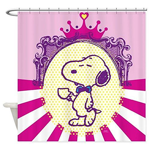 nuohaoshangmao Snoopy Glamour - Decorative Fabric Shower Curtain (60