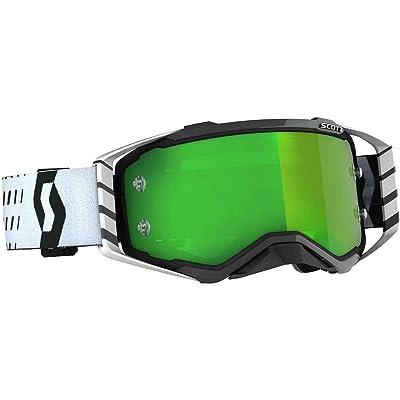 Scott Unisex-Adult Goggle (Blk/Wht, one_size) - Prospect MX: Automotive