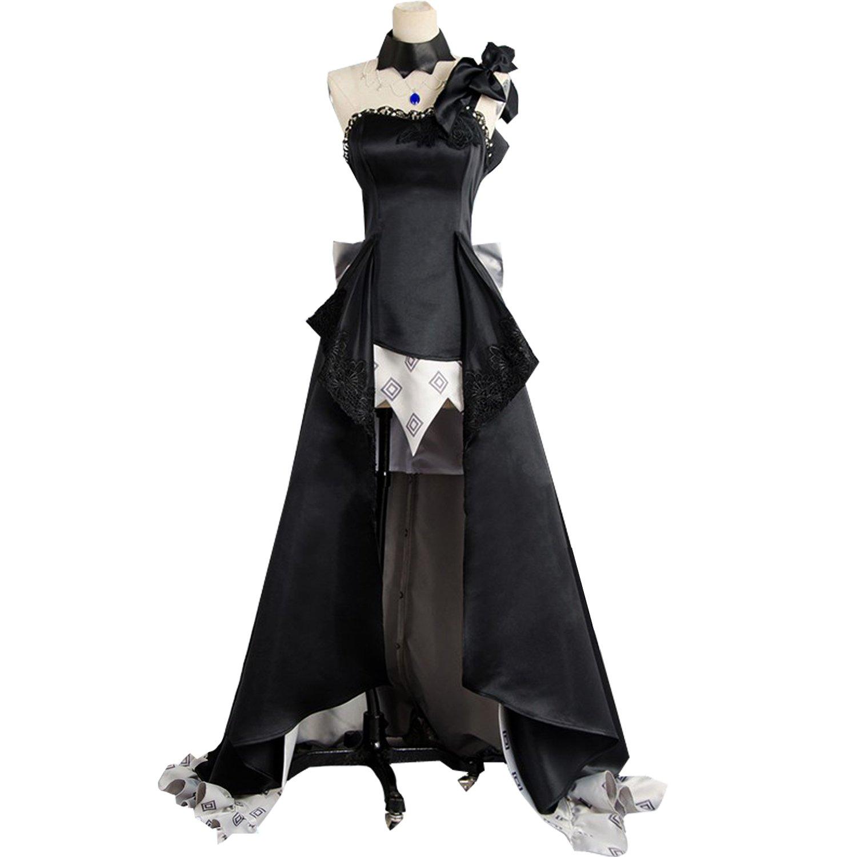 Amazon.com Anime Rider Marie Antoinette Cosplay Women Black
