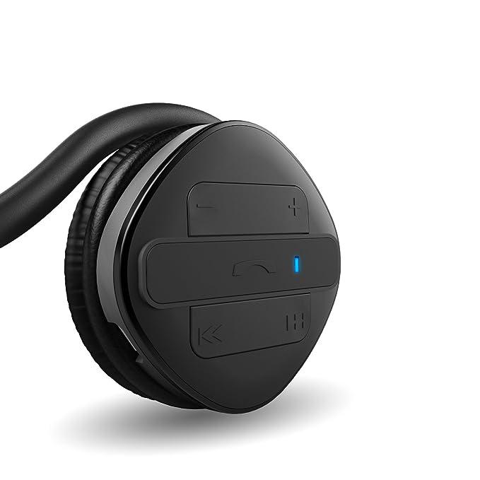 Aukey EP-B26 - AUKEY Auriculares deportivo, con Bluetooth 4.1 y micrófono para correr: Amazon.es: Electrónica