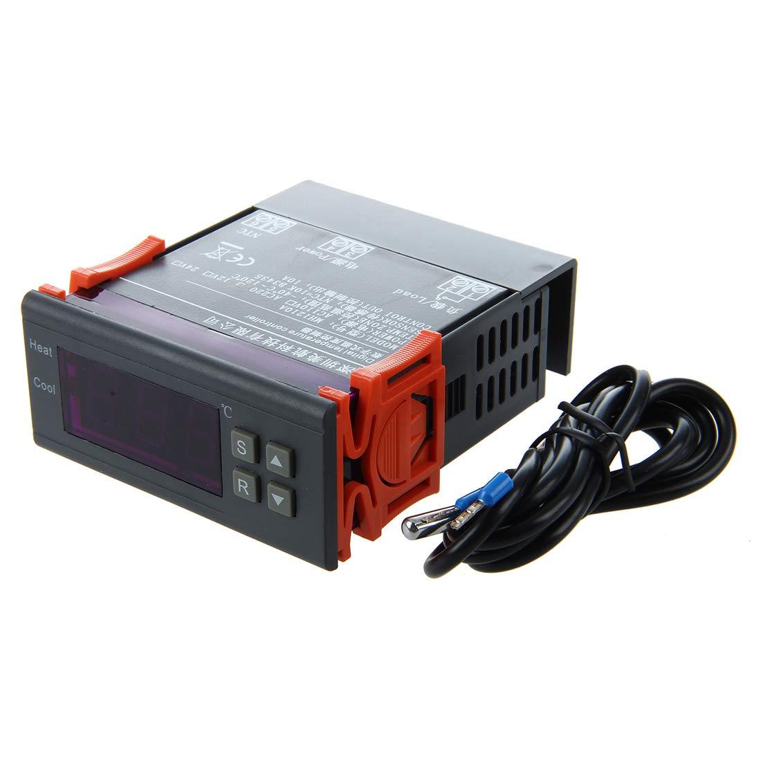 200-240V Temperatura controller termocoppia Digitale R TOOGOO 40 C a 120 C con sensore
