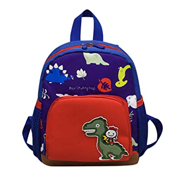 Amazon.com: BOLUOYI Cool Backpacks for Teen Girls in Middle School Baby Boys Girls Kids Bag Dinosaur Pattern Cartoon Backpack Toddler School Bags: Toys & ...