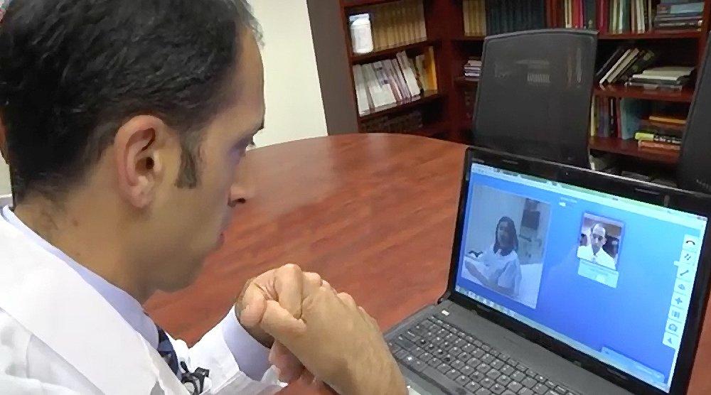 Telemed Video Conferencing Cart - Telemedicine Medical Cart