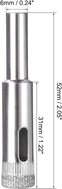 TINGB Frese diamantate 32mm con Foro diamantato per Piastrelle in Ceramica Porcellana Marmo segato 5 Pezzi
