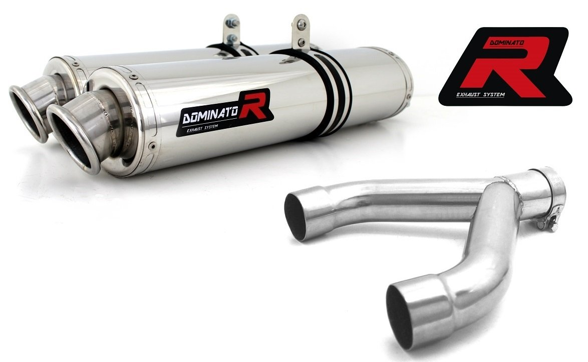 Dominator Exhaust Silencieux /échappement APRILIA DORSODURO 750 HP2 DB KILLER