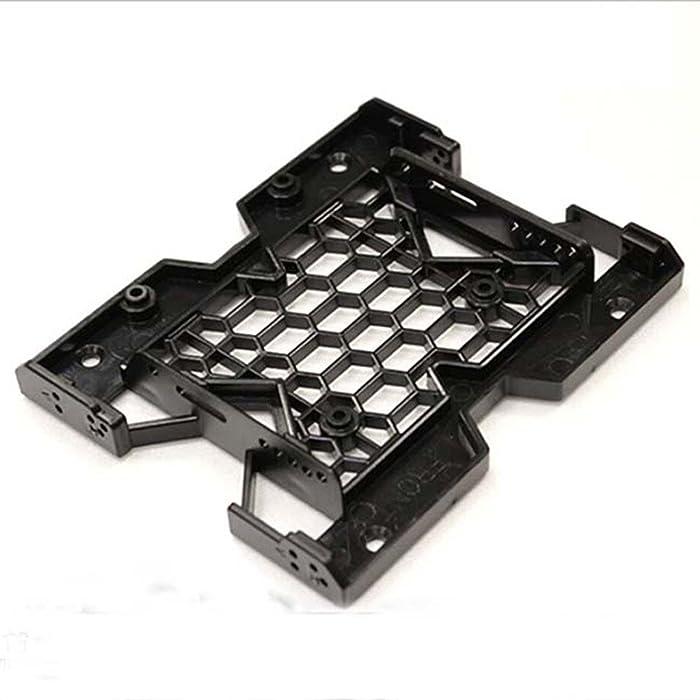 "5.25"" to 3.5"" 2.5"" SSD Hard Drive Bay Tray Cooling Fan Mounting Bracket w/Screws"