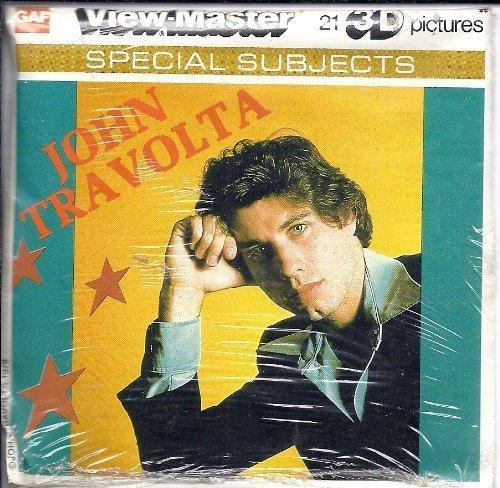 John Travolta 3d View-Master 3 Reel Packet