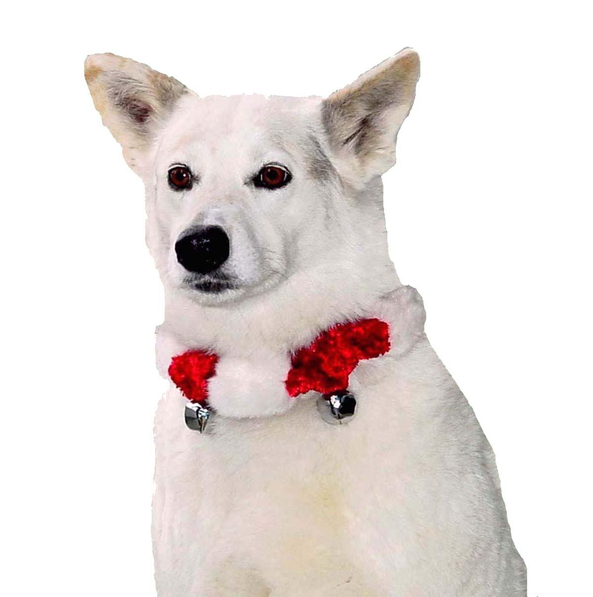 amazon com outward hound kyjen pp01761 dog bell collar holiday