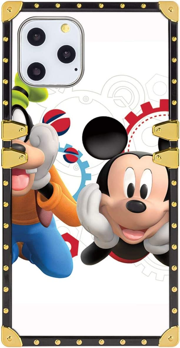 Amazon Com Disney Collection Square Phone Case Corner Phone Shell Case Compatible For Iphone 11 2019 5 8 Inch Cartoon Mickey Mouse Clipart Clubhouse Desktop Backgrounds