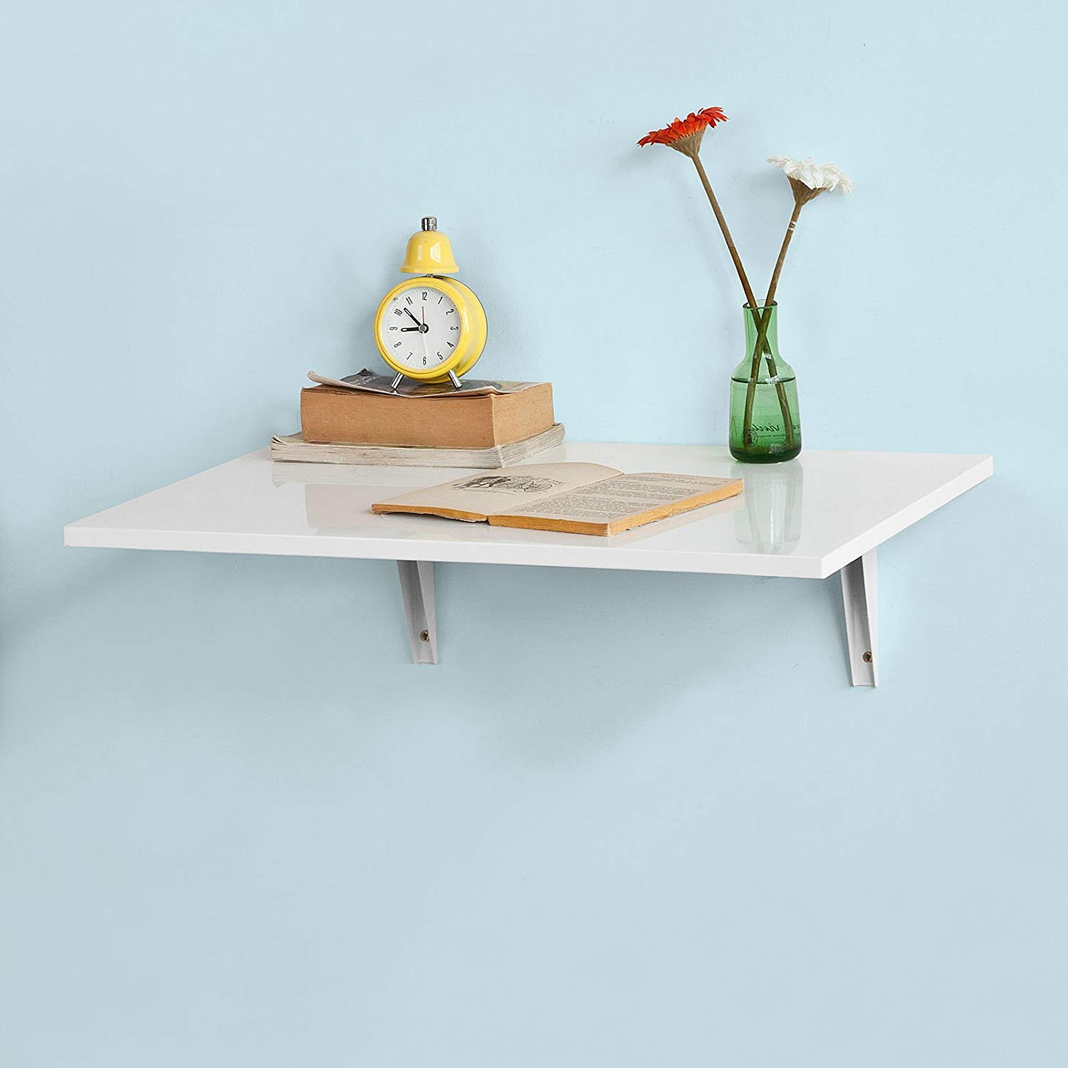 Wall-Mounted Folding Table, Wall-Mounted Fallen Table, Dining Table, Children's Table, White