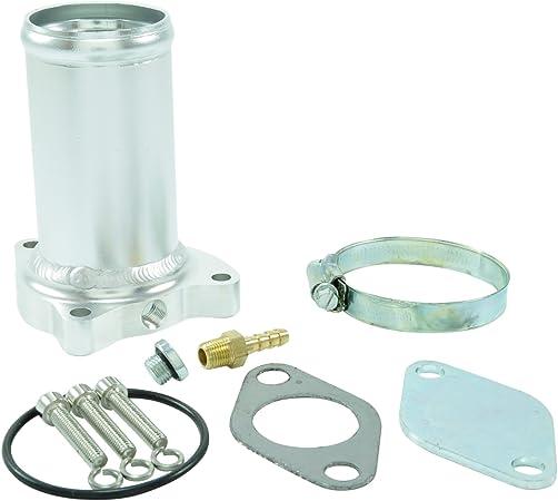 AGR-Ventil professionelles AGR-Ventil Ersatzrohr Passend f/ür AGR Delete Kit 1.9 TDI 130//160 CV Diesel
