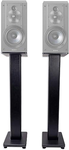 Pair 36 Bookshelf Speaker Stands for Sony SSCS5 Bookshelf Speakers
