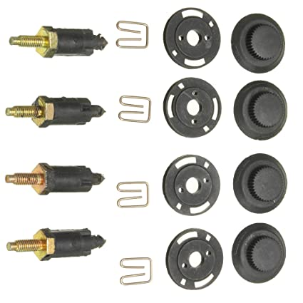 Amazon.com: D DOLITY Easy Install Safety 8Pcs Engine Cover Bolt Bonnet Hood Clip: Automotive
