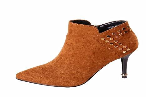 HBDLH Di bell'aspetto/scarpe da donna/Moda Affascinante Personalità Rivet Con 8Cm Scarpe Con Tacchi Alti Stile...