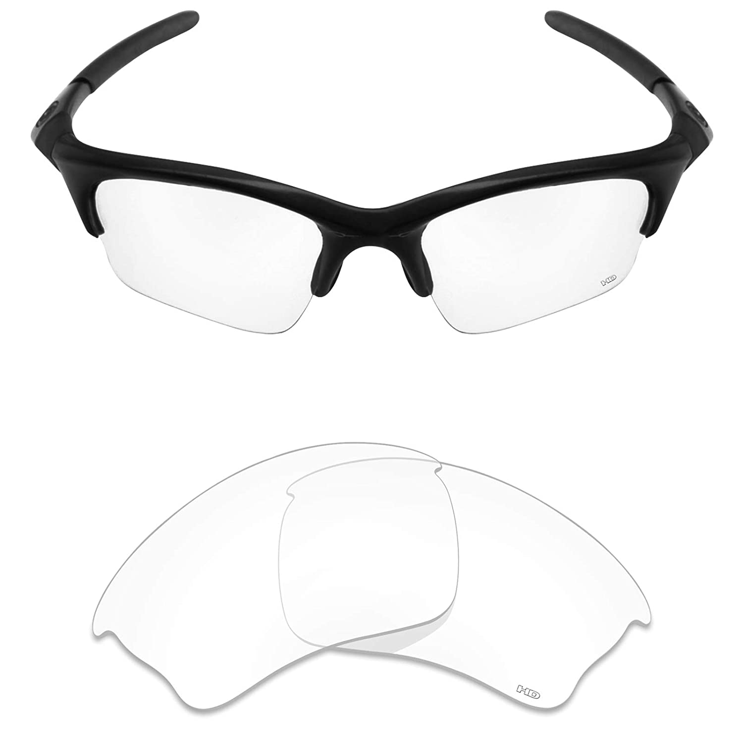 7470f74578d8 Amazon.com: Mryok+ Polarized Replacement Lenses for Oakley Half Jacket XLJ  - HD Clear: Clothing