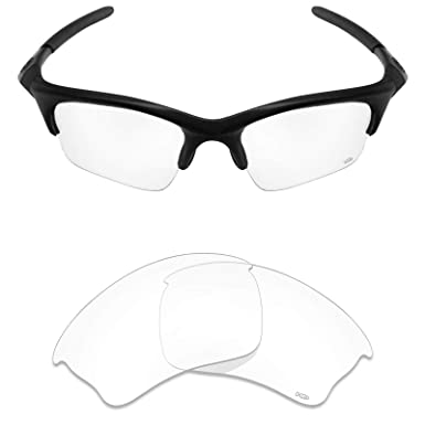 3ff31c618ed26 Mryok+ Polarized Replacement Lenses for Oakley Half Jacket XLJ - HD Clear