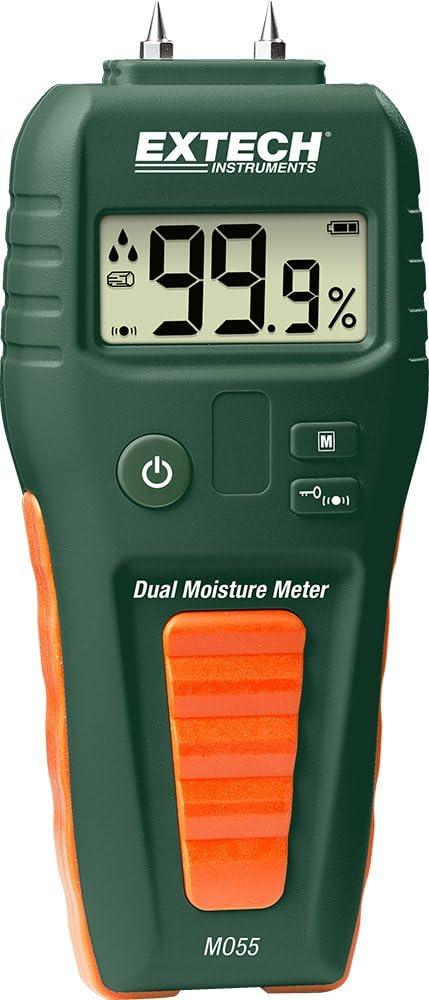 Extech MO55 – Combination Pin/Pinless Moisture Meter