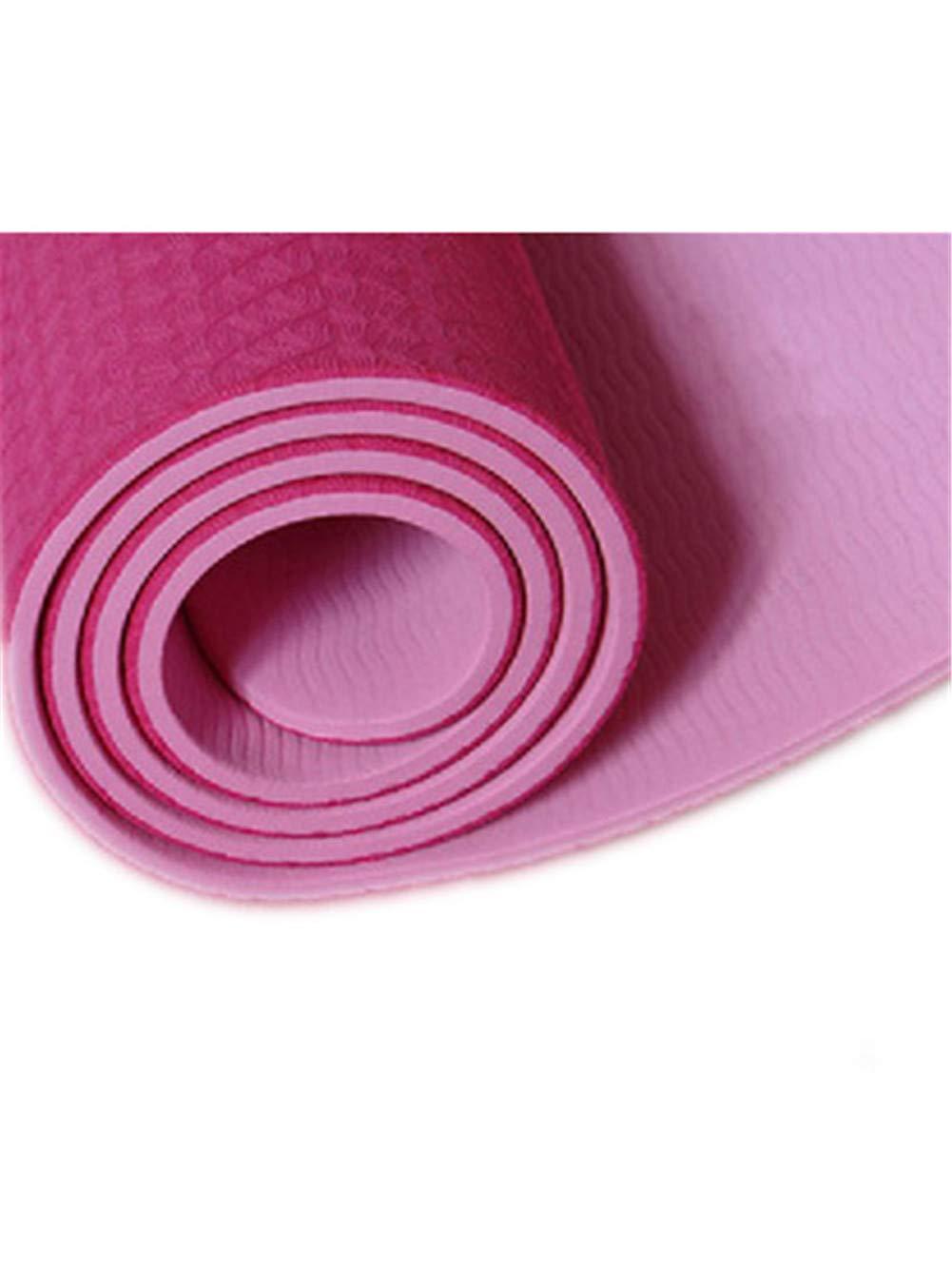 D 8MM APJJ Tapis De Yoga TPE Tapis De Yoga sans Goût Tapis De Fitness AllongeHommest De L'épaississeHommest