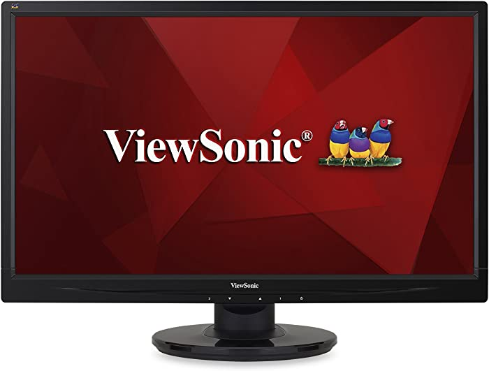ViewSonic VA2246MH-LED 22 Inch Full HD 1080p LED Monitor with HDMI and VGA Inputs for Home and Office,Black