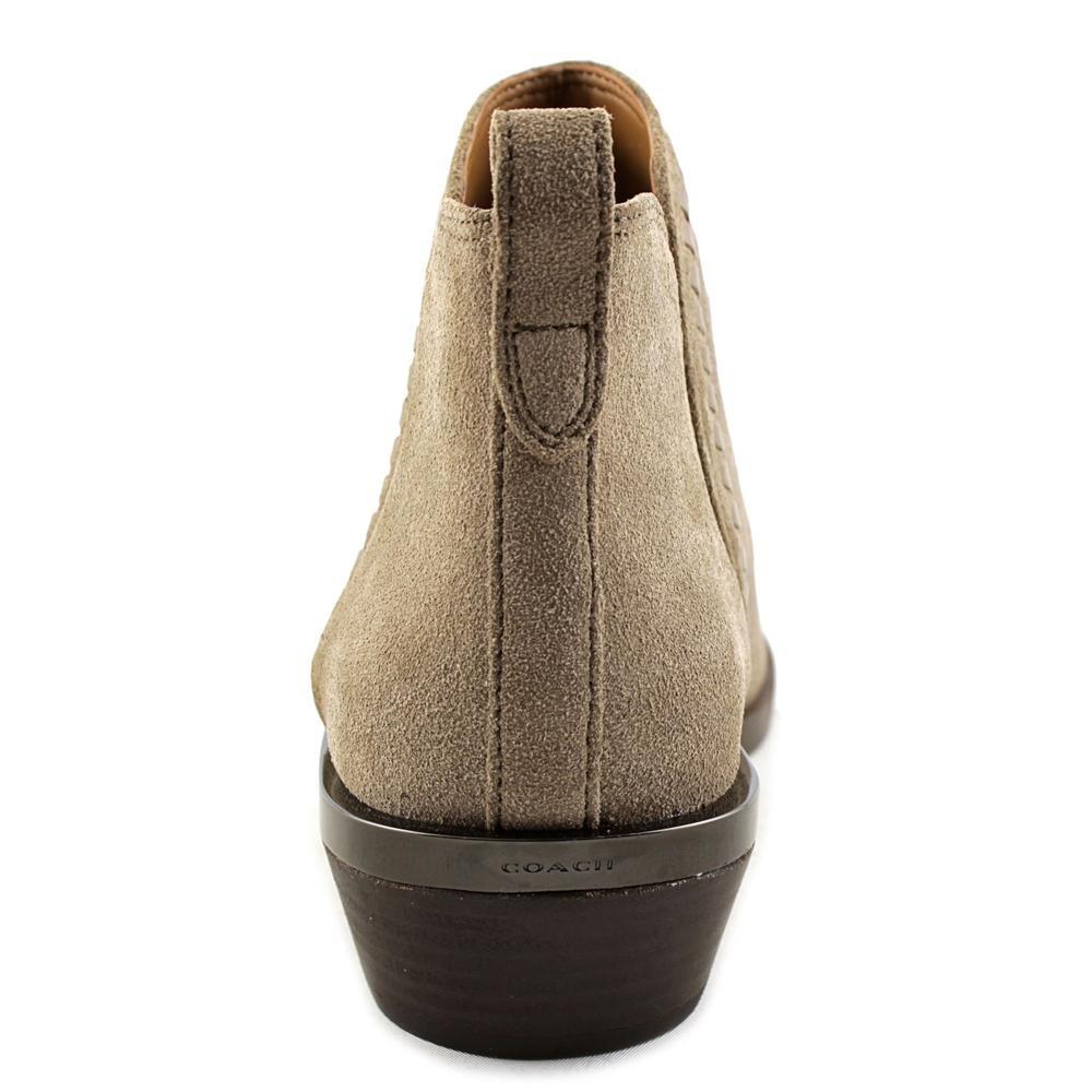 Coach Mujeres Carter Suede Punta Almendra Botas de Moda, Lt Ft Gry/Lt Ft Gry, Talla 5.5: Amazon.es: Zapatos y complementos