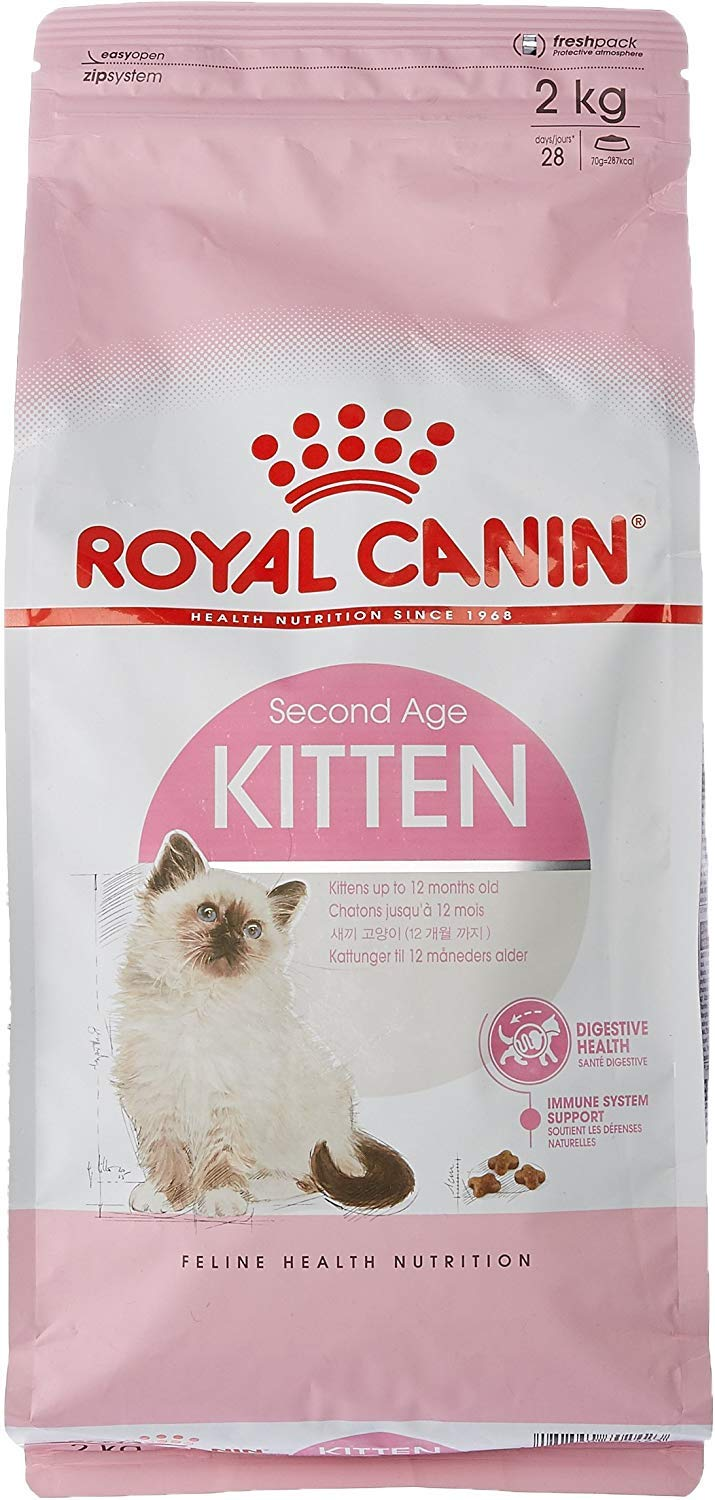 Heads Up For Tails Royal Canin 36 Second Age Kitten Food 2 Kg Amazon In Pet Supplies