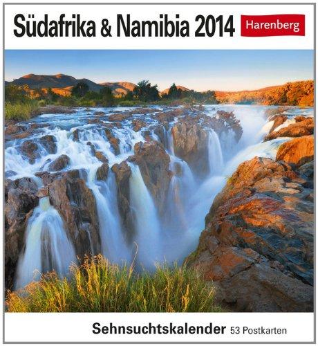 Südafrika & Namibia 2014: Sehnsuchts-Kalender. 53 heraustrennbare Farbpostkarten