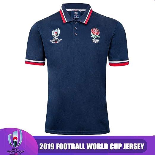 QAZ Copas del Mundo (RWC) Inglaterra Y Fuera De Casa Camisetas De ...