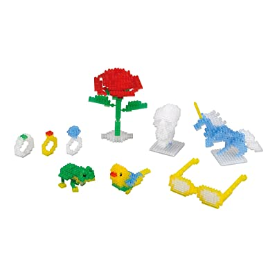 nanoblock Clear Color Set NB-016: Toys & Games [5Bkhe0502549]