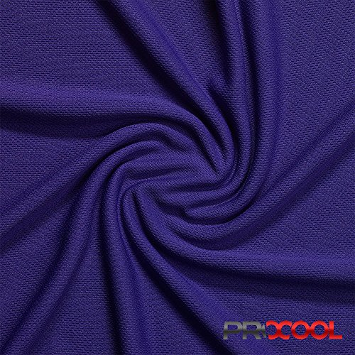 (ProCool Athletic Jersey Mesh (Made in USA, Purple, sold by the yard))