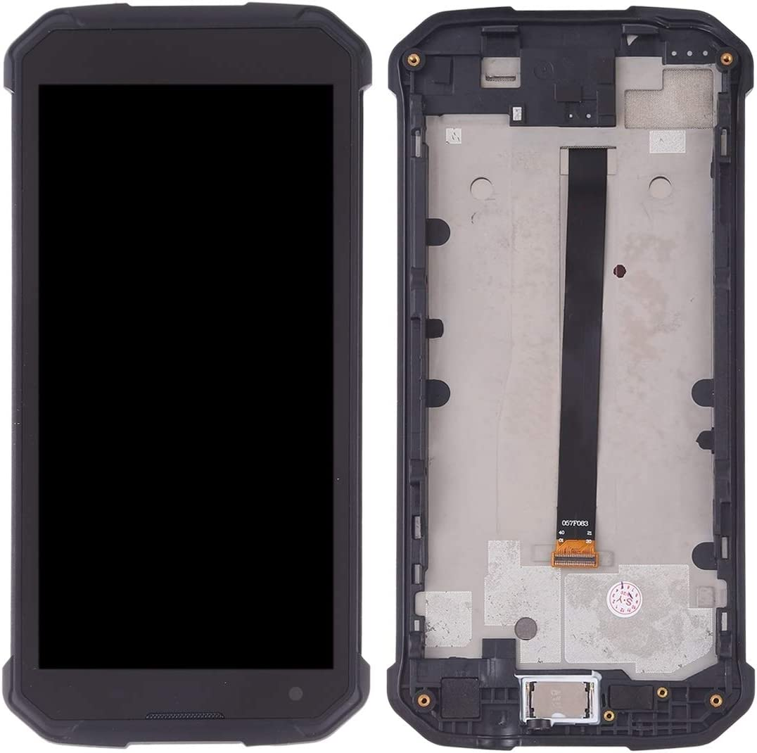 Color : Black Black EasePoints Repair Part LCD Screen and Digitizer Full Assembly for Blackview BV9500 Spare Part